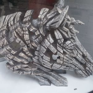 A great sculpture found in a shop in Gibraltar