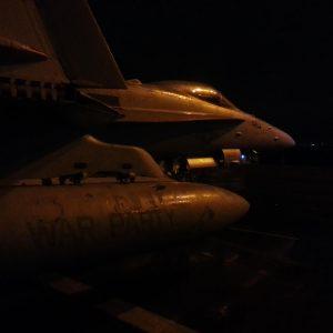 CVN-77-Aircraft-Carrier-Reception-in-Antalya-Bay-18
