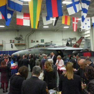 CVN-77-Aircraft-Carrier-Reception-in-Antalya-Bay-6