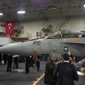 CVN-77-Aircraft-Carrier-Reception-in-Antalya-Bay-9