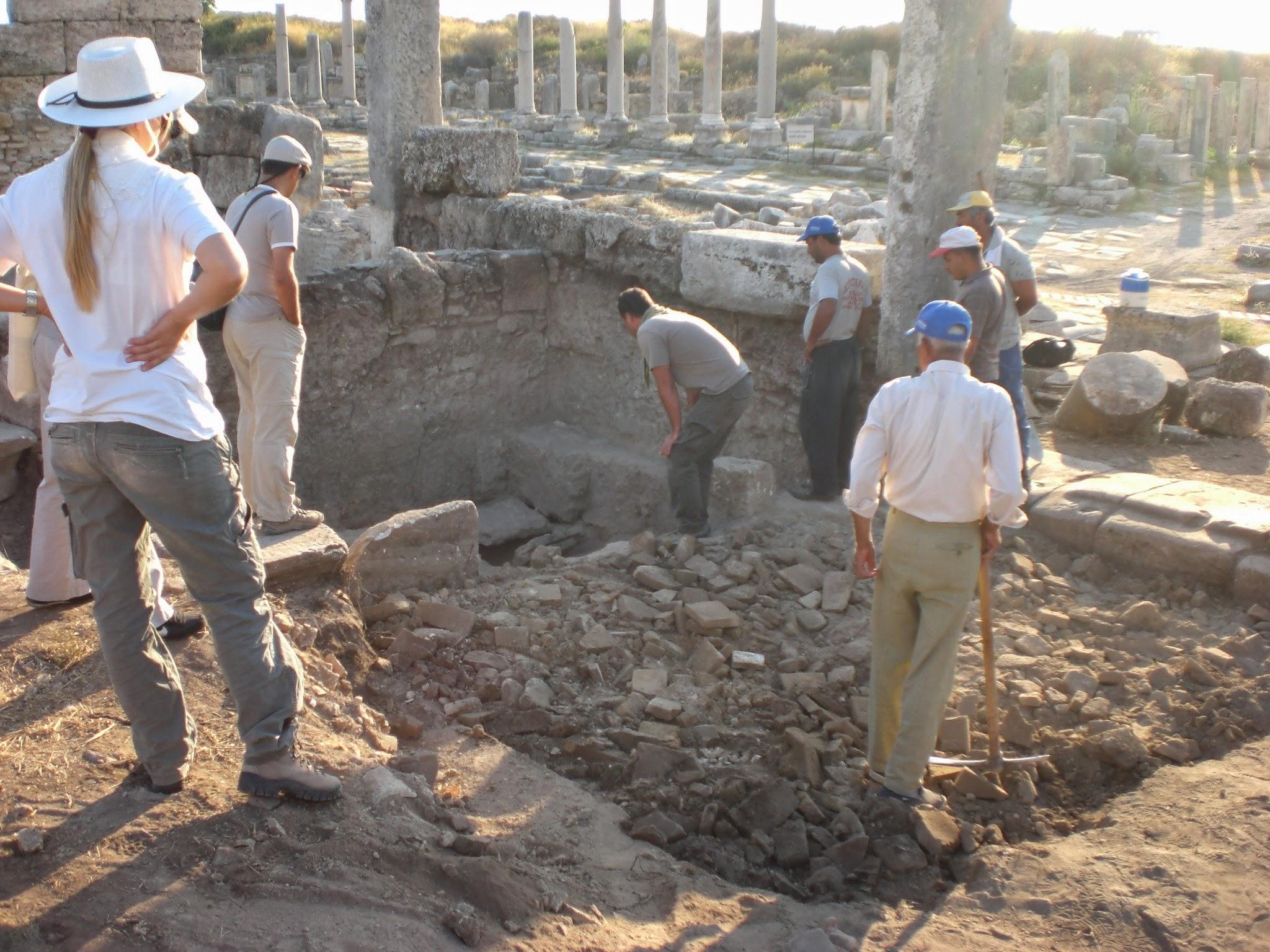 Memories of Turkey – Perge excavations